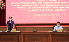Hà Nội thực hiện dồn điền, đổi thửa được hơn 79.000 ha