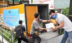 VPMilk hỗ trợ 1.000 thùng sữa cho lực lượng chống dịch và người nghèo