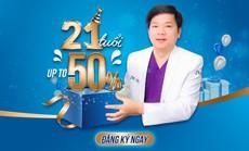 Bệnh viện JW ưu đãi 50% toàn bộ dịch vụ làm đẹp mừng sinh nhật lần thứ 21