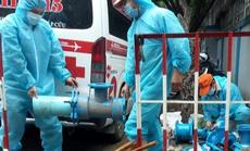 SAWACO: Nỗ lực cung cấp nước sạch cho các khu cách ly dịch bệnh trên địa bàn Quận 10 TP HCM