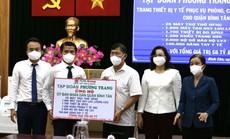 Tập đoàn Phương Trang trao tặng quận Bình Tân thiết bị y tế trị giá 58 tỉ đồng