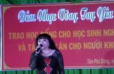Ca sĩ hải ngoại diễn… 'chui' ở Tiền Giang!