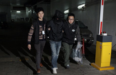 Cảnh sát Hồng Kông bắt 2 người 'hôi tiền'