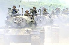 Đài Loan tập trận chống tàu sân bay Trung Quốc