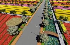 Đồng Tháp: Triển khai mô hình đường hoa Sa Nhiên - Cai Dao