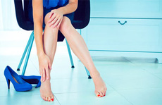 Giầy cao gót - hiểm họa với sức khỏe phụ nữ