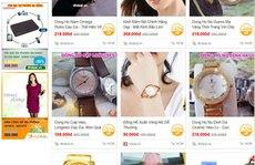 Té ngửa với mua hàng online