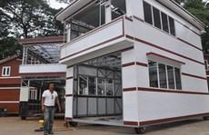 Triệu phú USD làm nhà lầu di động ở Cà Mau