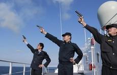 Trung Quốc tập trận bắn đạn thật ở Vịnh Bắc Bộ