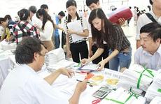 Hồ sơ ảo thi ĐH, CĐ giảm mạnh