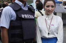 Phóng viên Nhật làm phân tâm biểu tình Thái Lan