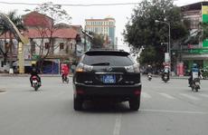 Vụ 2 xe biển xanh số 'VIP' 6789: Là để hóa trang