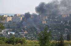 Quân đội Ukraine bị phục kích, 14 người chết
