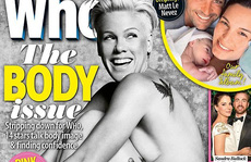 Nghệ sĩ Pink tự tin chụp ảnh khỏa thân