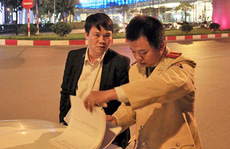 Phạt chuyên viên gây tai nạn, rút thẻ ngành với CSGT 12,5 triệu đồng
