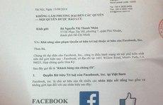 Facebook 'dọa kiện' một nhà hàng 'trùng tên' ở Việt Nam