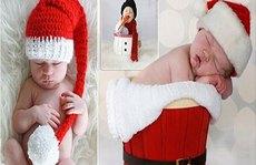 Ngắm nhìn bộ ảnh em bé Giáng sinh siêu dễ thương