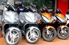 Xe tay ga Honda tăng giá mạnh ở Việt Nam