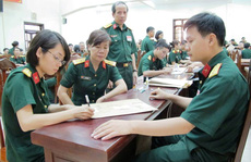 Điểm chuẩn các trường khối quân đội