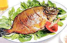 Đến xứ than, ăn cá rìa nướng