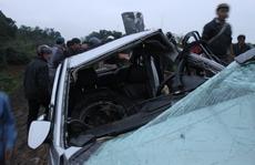 Rời nhà lãnh đạo huyện, 2 cán bộ công an gặp nạn