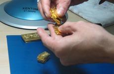 Giá vàng tăng mạnh vào cuối ngày
