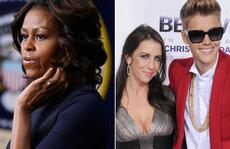 Michelle Obama chỉ cách dạy con cho mẹ Justin Bieber