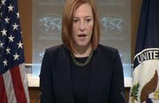 Mỹ lên tiếng về hành động hăm dọa của Trung Quốc ở Biển Đông