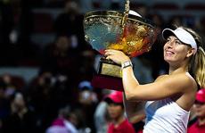 Sharapova trở lại hạng hai thế giới