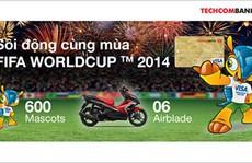 Techcombank tặng quà đặc biệt nhân dịp World Cup