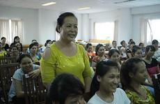 Tuyên truyền về nuôi dạy con cho công nhân