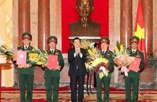 Quân đội có thêm 4 Thượng tướng
