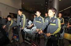 U19 Nhật Bản đến VN lúc nửa đêm