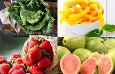 5 loại rau quả giàu Vitamin C hơn cả cam