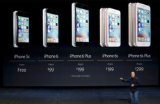 Cổ phiếu Apple sụt mạnh sau màn ra mắt iPhone 6s