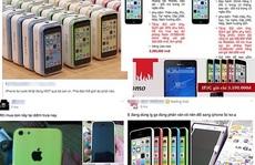 iPhone 5C giá hơn 3 triệu đồng tràn về Việt Nam