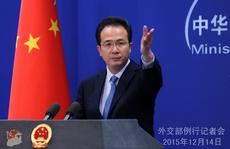 Trung Quốc phản ứng thỏa thuận Ấn-Nhật về biển Đông