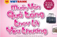 Ngân hàng tặng quà nhân Ngày Phụ nữ Việt Nam