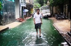 Tìm ra 'thủ phạm' khiến nước xanh bất thường ở Hà Nội
