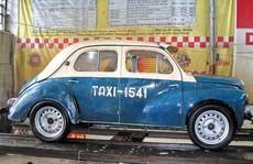 Taxi xưa ở Sài Gòn