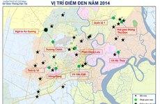 TP HCM còn 9 điểm đen giao thông
