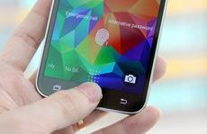 Galaxy S5 dễ dàng bị đánh cắp dấu vân tay