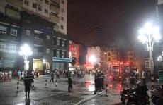 Cháy phòng tập gym, dân chung cư hoảng loạn tháo chạy