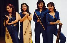 Thay màu nhóm nhạc dân tộc
