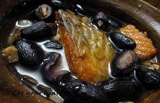 Ngọt bùi trám đen kho cá