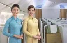 Tiếp viên, phi công Vietnam Airlines có đồng phục mới