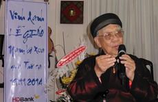 Nghệ sĩ thương tiếc GS.TS Trần Văn Khê