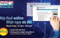 Ngân hàng miễn phí dịch vụ nộp thuế điện tử