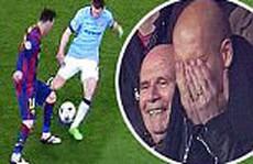 Messi 'xỏ kim' Milner, HLV Guardiola kinh ngạc