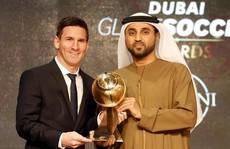Messi nhận giải Globe Soccer, mơ Quả bóng vàng FIFA